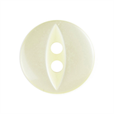 10 X FISHEYE BUTTONS 11MM YELLOW (G033918/3)