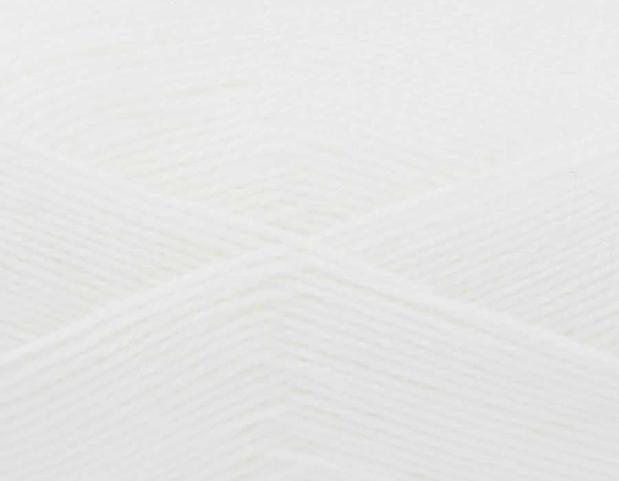 KING COLE BIG VALUE BABY 4PLY 100 GRAM BALL WHITE