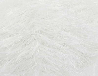 KING COLE TINSEL CHUNKY 50 GRAM BALL WHITE