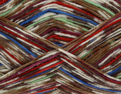 KING COLE ZIG ZAG 4PLY SOCK WOOL 100 GRAM BALL CHICAGO