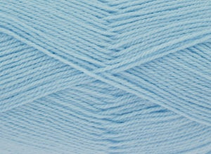 KING COLE BIG VALUE BABY 4PLY 100 GRAM BALL BLUE ICE