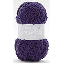 SIRDAR SNOWFLAKE CHUNKY 25 GRAM BALL GRAPEY (719)
