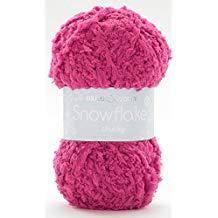 SIRDAR SNOWFLAKE CHUNKY 25 GRAM BALL BUBBLE GUM (718)