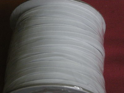 1 METRE OF 1/2 CM (5MM) WIDE ELASTIC  WHITE