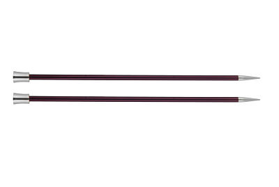 1 PAIR OF KNIT PRO ZING KNITTING NEEDLES 6 MM
