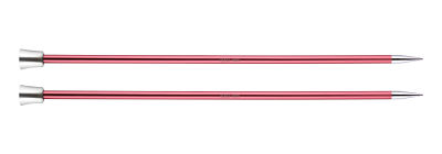 1 PAIR OF KNIT PRO ZING KNITTING NEEDLES 6.5 MM
