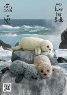 NEW OUT KING COLE LUXE FUR/DK SEAL PATTERN 9023