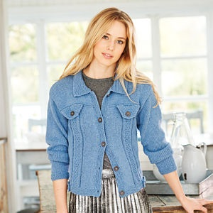 STYLECRAFT JEANIE DENIM LOOK KNITTING PATTERN JACKETS (9357)