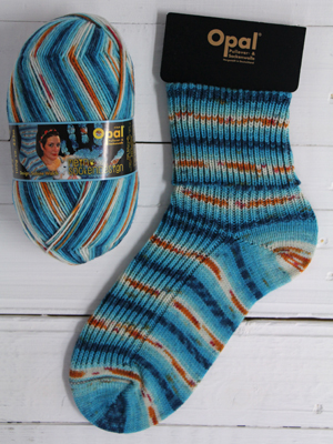 OPAL 4PLY SOCK WOOL MY SOCK DESIGN UNICORN LOVE (9372)