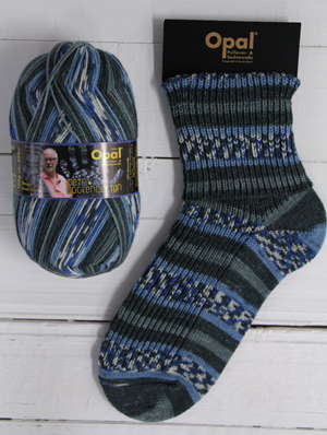 OPAL 4PLY SOCK WOOL MY SOCK DESIGN BALTIC BEACH (9374)