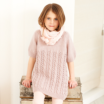 STYLECRAFT SPECIAL DK DRESS AND TUNIC KNITTING PATTERN (9399)