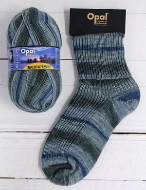 OPAL 4PLY SOCK WOOL SUNRISE 100 GRAM BALL FRAGRANCE OF THE MOON (9443)