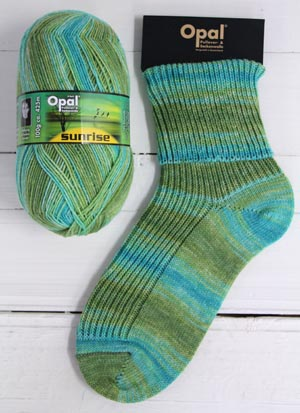 OPAL 4PLY SOCK WOOL SUNRISE 100 GRAM BALL MELODY OF THE DAY (9446)