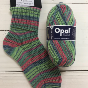 NEW OUT OPAL COTTON PREMIUM 4PLY SOCK WOOL 100 GRAM BALL CLEARING (9714)