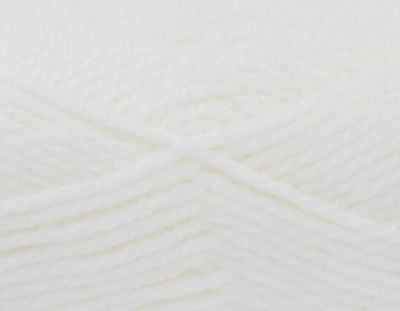 KING COLE COMFORT CHUNKY 100 GRAM BALLS WHITE