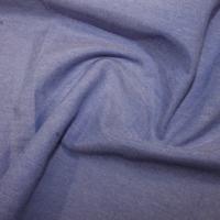 PLAIN POLYCOTTON CHAMBRAY WIDTH 144 CMS DARK BLUE PRICE PER METRE