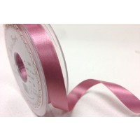 BERTIE BOWS DOUBLE FACED SATIN RIBBON 15MM DUSKY PINK