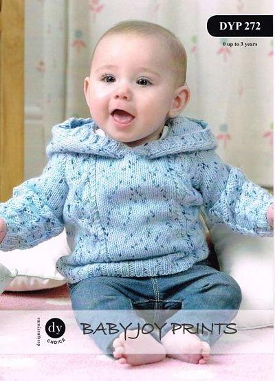 DY BABIES JUMPER DK KNITTING PATTERN DYP272