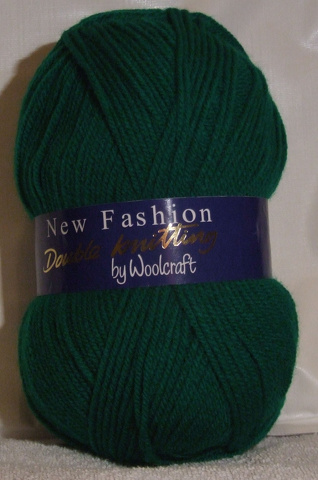 WOOLCRAFT NEW FASHION DK 100 GRAM BALL EMERALD