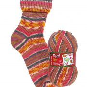 NEW OUT OPAL 4PLY SOCK WOOL 100 GRAM BALL BUTTERFLY FIRST GLANCE (9652)