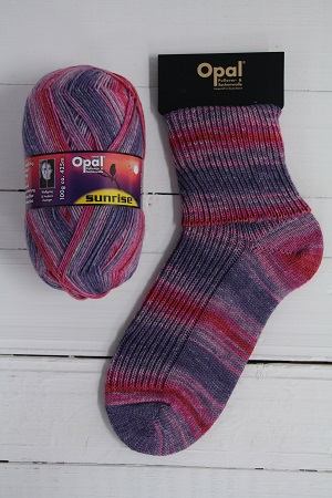 OPAL 4PLY SOCK WOOL SUNRISE 100 GRAM BALL BIRD CHIRPING (9447)