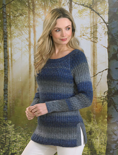 JAMES BRETT LADIES JUMPER KNITTING PATTERN (JB495)