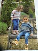 JAMES BRETT CHILDRENS/BABIES JUMPER DK KNITTING PATTERN (JB623)