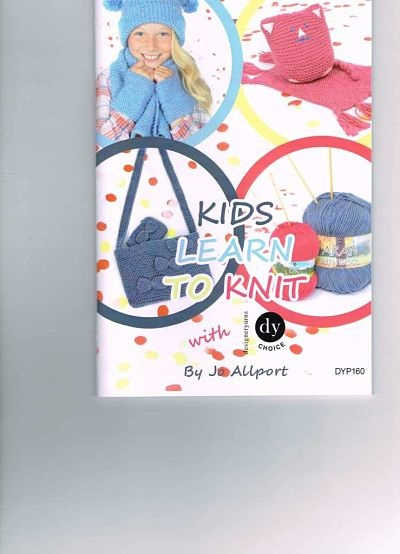 DY CHOICE KIDS LEARN TO KNIT BOOKLET (DYP160)