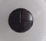 10 X DARK BROWN LIKE LEATHER SHANK BUTTONS - 15MM