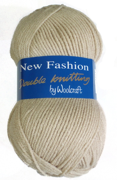 WOOLCRAFT NEW FASHION DK 100 GRAM BALL PARCHMENT