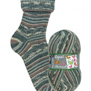 NEW OUT OPAL 4PLY SOCK WOOL 100 GRAM BALL BUTTERFLY NOCTURNAL DESCENT (9657)
