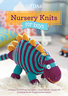 SIRDAR NURSERY KNITS FOR BOYS KNITTING BOOK 487