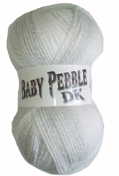 NEW OUT WOOLCRAFT BABY PEBBLE DK 100 GRAM BALL DOVE