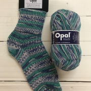 NEW OUT OPAL COTTON PREMIUM 4PLY SOCK WOOL 100 GRAM BALL PICNIC (9717)
