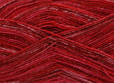 NEW OUT KING COLE PARTY GLITZ 4PLY 100 GRAM BALL SANTA