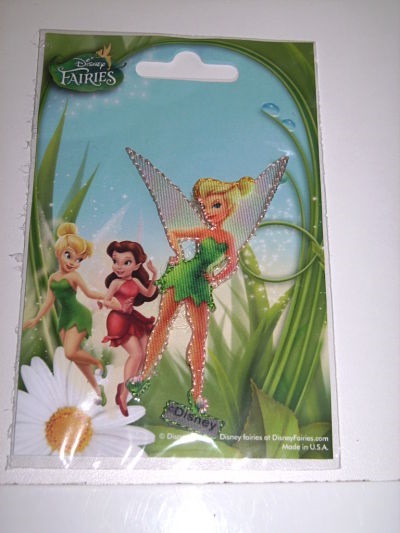 DISNEY FAIRIES IRON ON MOTIF TINKERBELL
