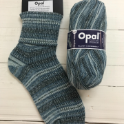 NEW OUT OPAL COTTON PREMIUM 4PLY SOCK WOOL 100 GRAM BALL WATERFALL (9712)