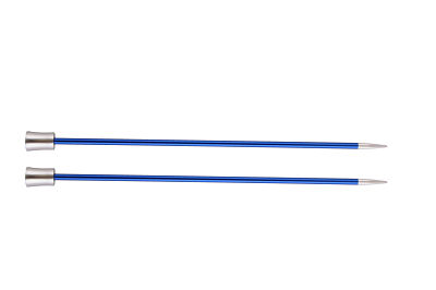 1 PAIR OF KNIT PRO ZING KNITTING NEEDLES 4 MM