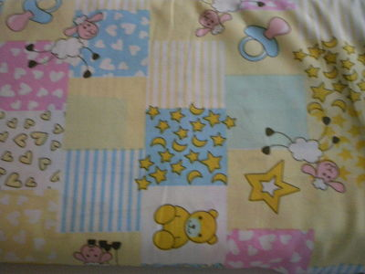 PATCHWORK BABIES POLY COTTON FABRIC 58 INCHES WIDE PRICE PER METRE
