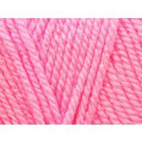 KING COLE BIG VALUE BABY DK 100 GRAM BALL BRIGHT PINK
