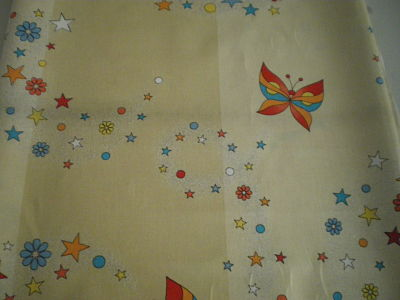 BUTTERFLIES COTTON FABRIC 58 INCHES WIDE PRICE PER METRE