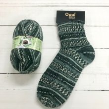 OPAL 4PLY SOCK WOOL 100 GRAM BALL RAINFOREST 14 COCO (9621)