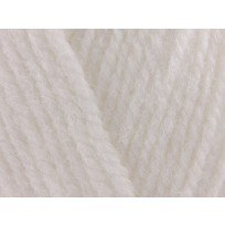 KING COLE COMFORT ARAN 100 GRAM BALL WHITE