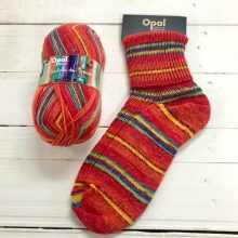 OPAL 4PLY SOCK WOOL 100 GRAM BALL SYMPHONY OF DREAM COZY LAVA (9610)