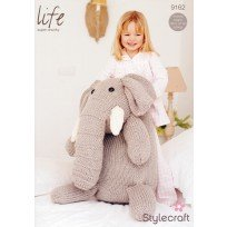NEW OUT STYLECRAFT SUPER CHUNKY ELEPHANT KNITTING PATTERN