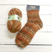 OPAL 4PLY SOCK WOOL 100 GRAM BALL RAINFOREST 14 GEORGE (9624)