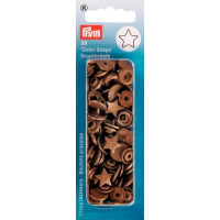 Prym Gold ColorSnaps Star Shape Non-Sew Snap Fasteners (30pc)