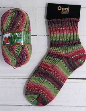 OPAL 4PLY SOCK WOOL FRESH AND JUICY HARVESTED PEPPERS (9360)