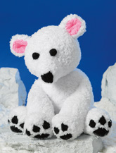 JAMES BRETT POLAR BEAR KNITTING PATTERN JB326