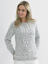 JAMES BRETT LADIES TRANQUIL CHUNKY KNITTING PATTERN (JB489)